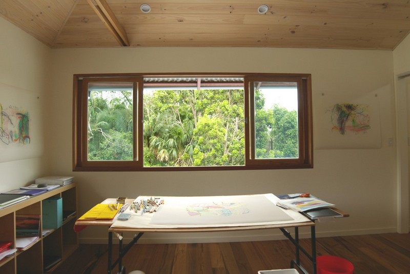 Art room | Byron Bay Lagoon House | Gold Coast Architect | Jose Do Architect