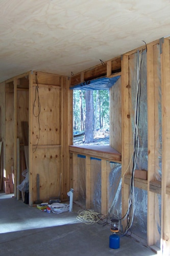 Window framing view | Cabin