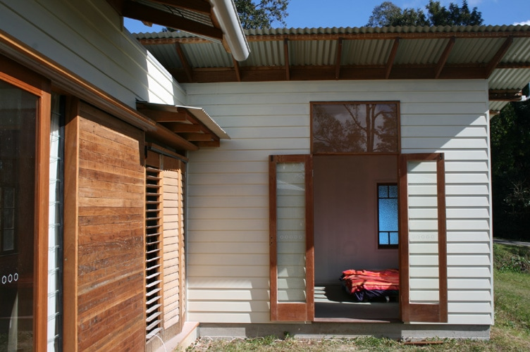 French doors | Tyalgum Village House | Gold Coast Architect | Jose Do Architect