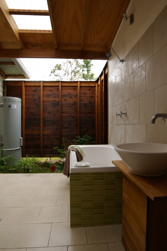 Garden Courtyard | Tyalgum Village House | Gold Coast Architect | Jose Do Architect