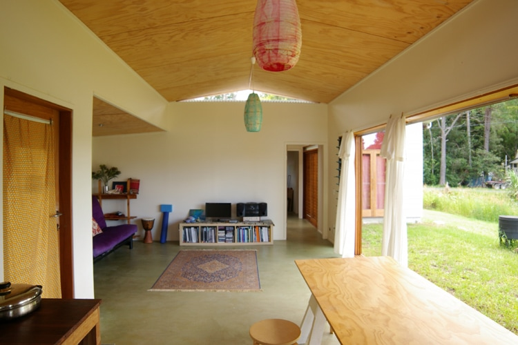 Plywood ceiling | Tyalgum Village House | Gold Coast Architect | Jose Do Architect