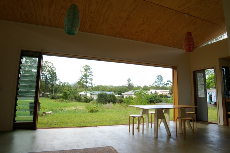 Landscape views | Tyalgum Village House | Gold Coast Architect | Jose Do Architect